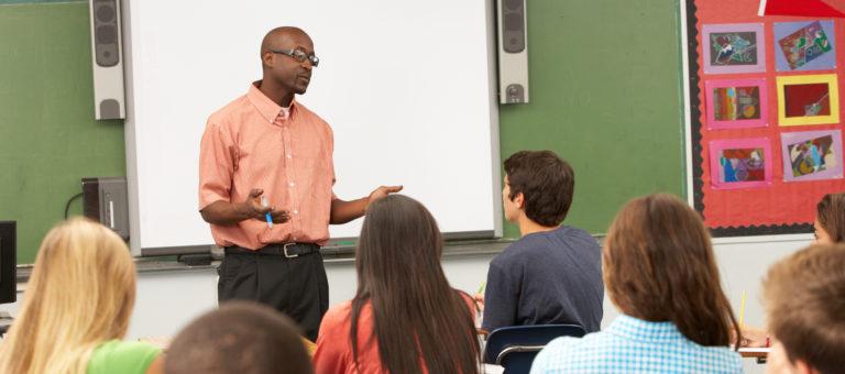 Professor aulas expositivas