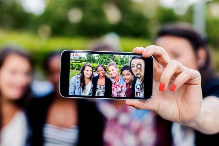Redes sociais alunos