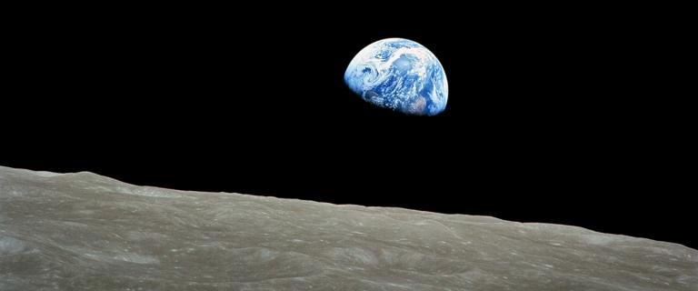 O homem pisou na superfície da Lua pela primeira vez em julho de 1969.